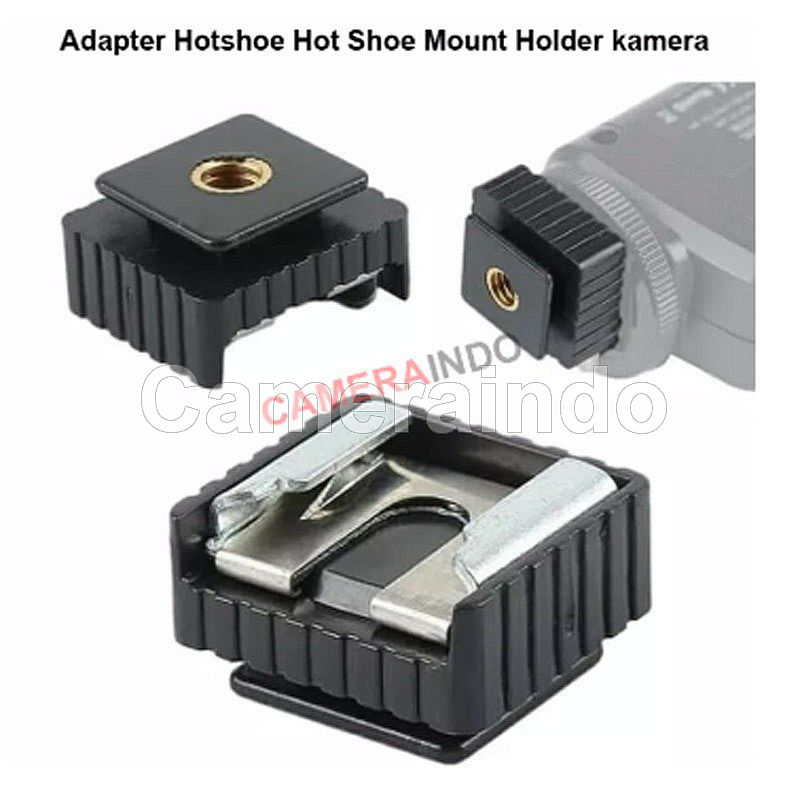 Adapter Hotshoe Hot Shoe Mount Holder kamera flash