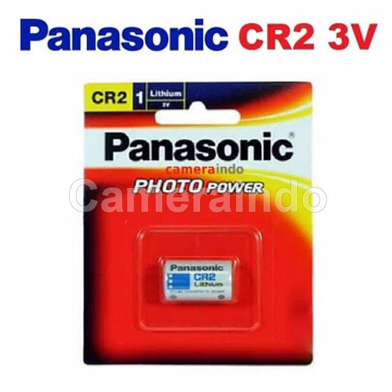 Battery Panasonic CR2 3v Baterai ORI FUJI INSTAX